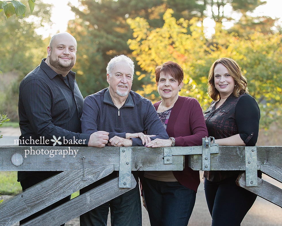 Family session in Moorestown