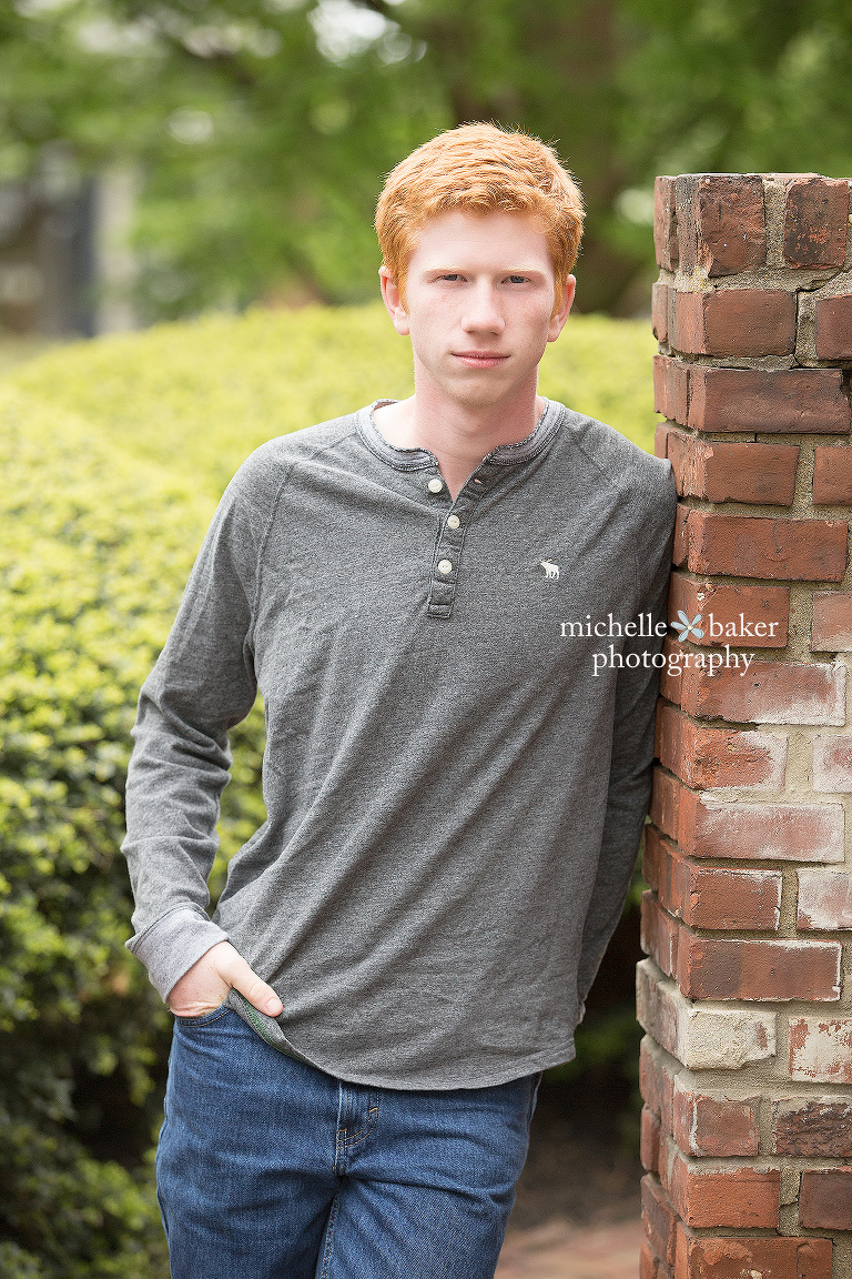 Senior boy portraits
