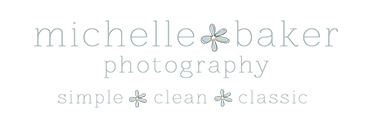 Boutique South Jersey Portrait Photography Michelle Baker Photography logo